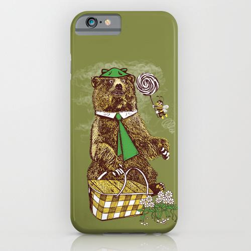 orso yoghi phone case