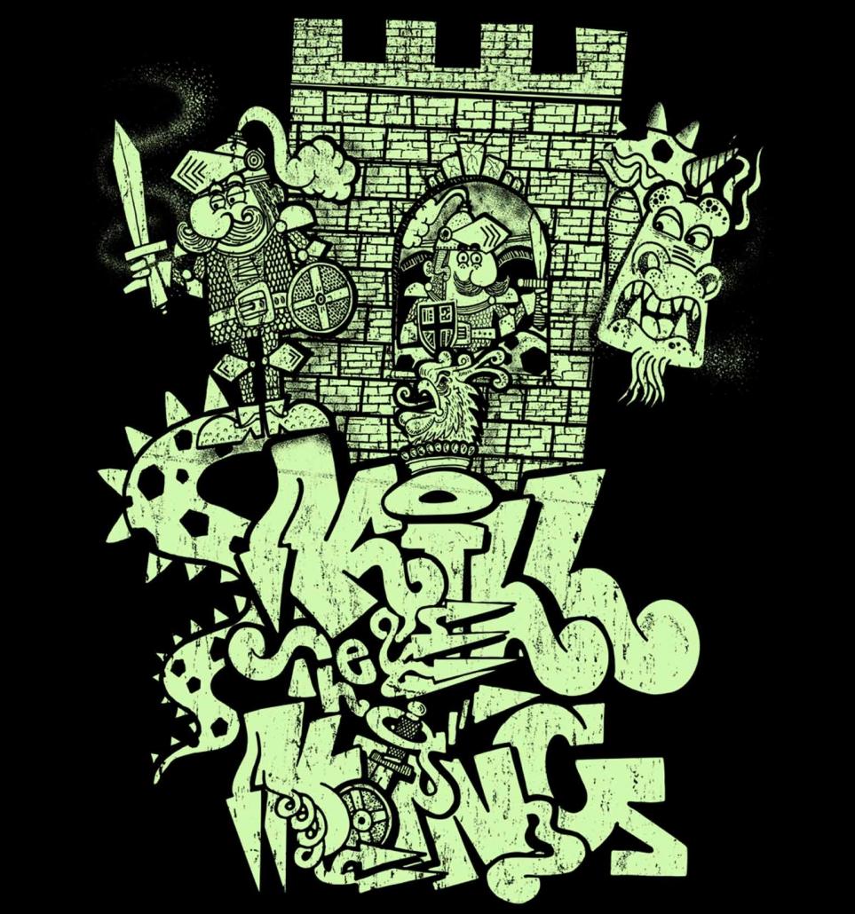 kill the king street wear design
