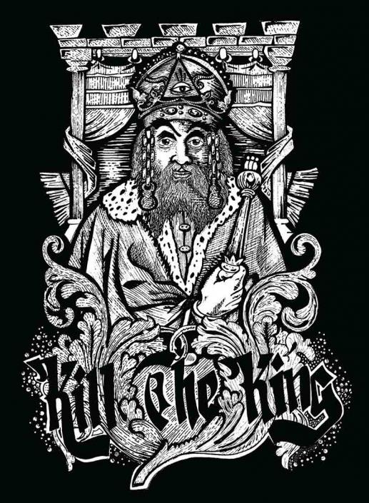 illustrazione grafica kill the king urban street wear