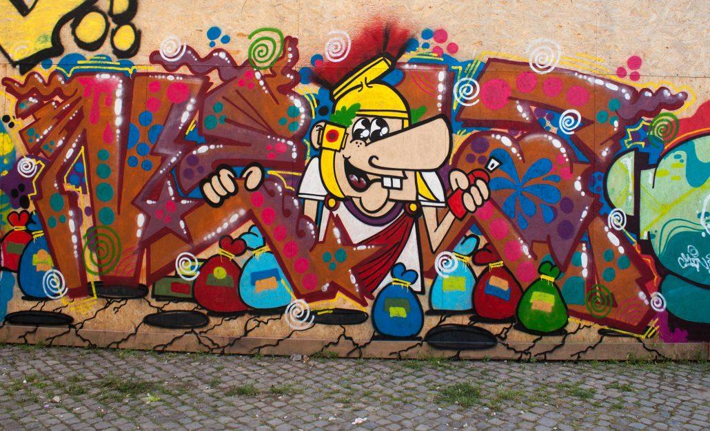 ancient roman graffito