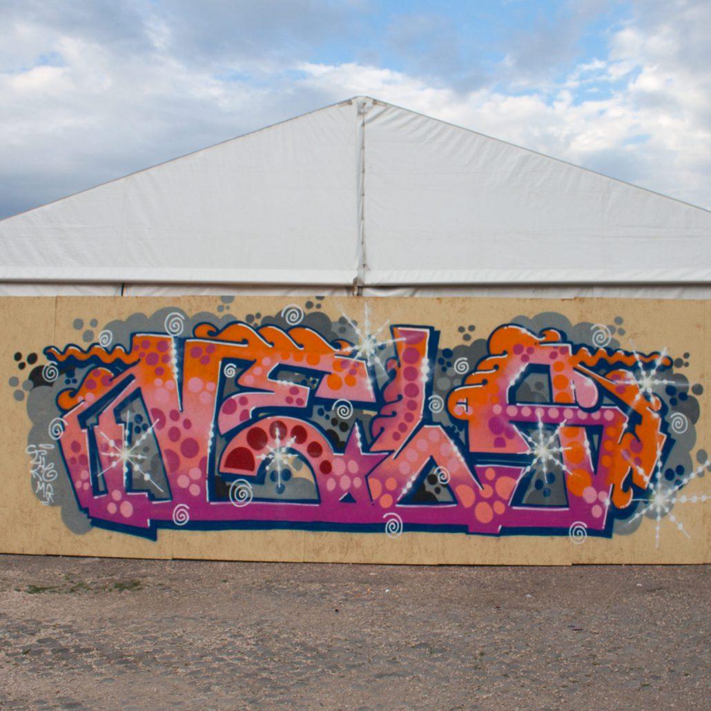 graffiti lettering a roma