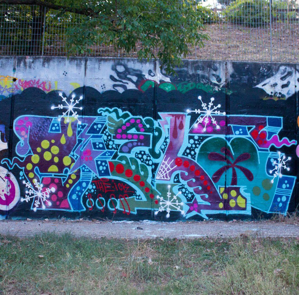 graffito negativo vela roma