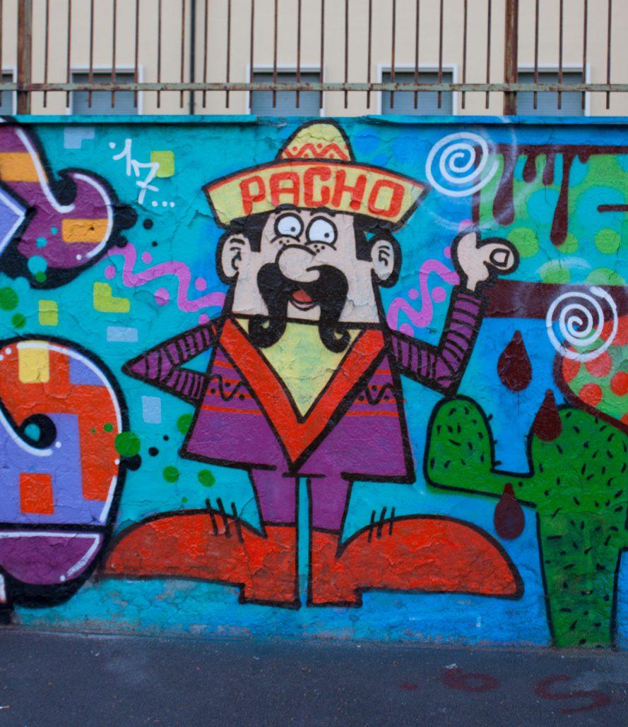 PACHO puppet su muro romajpg