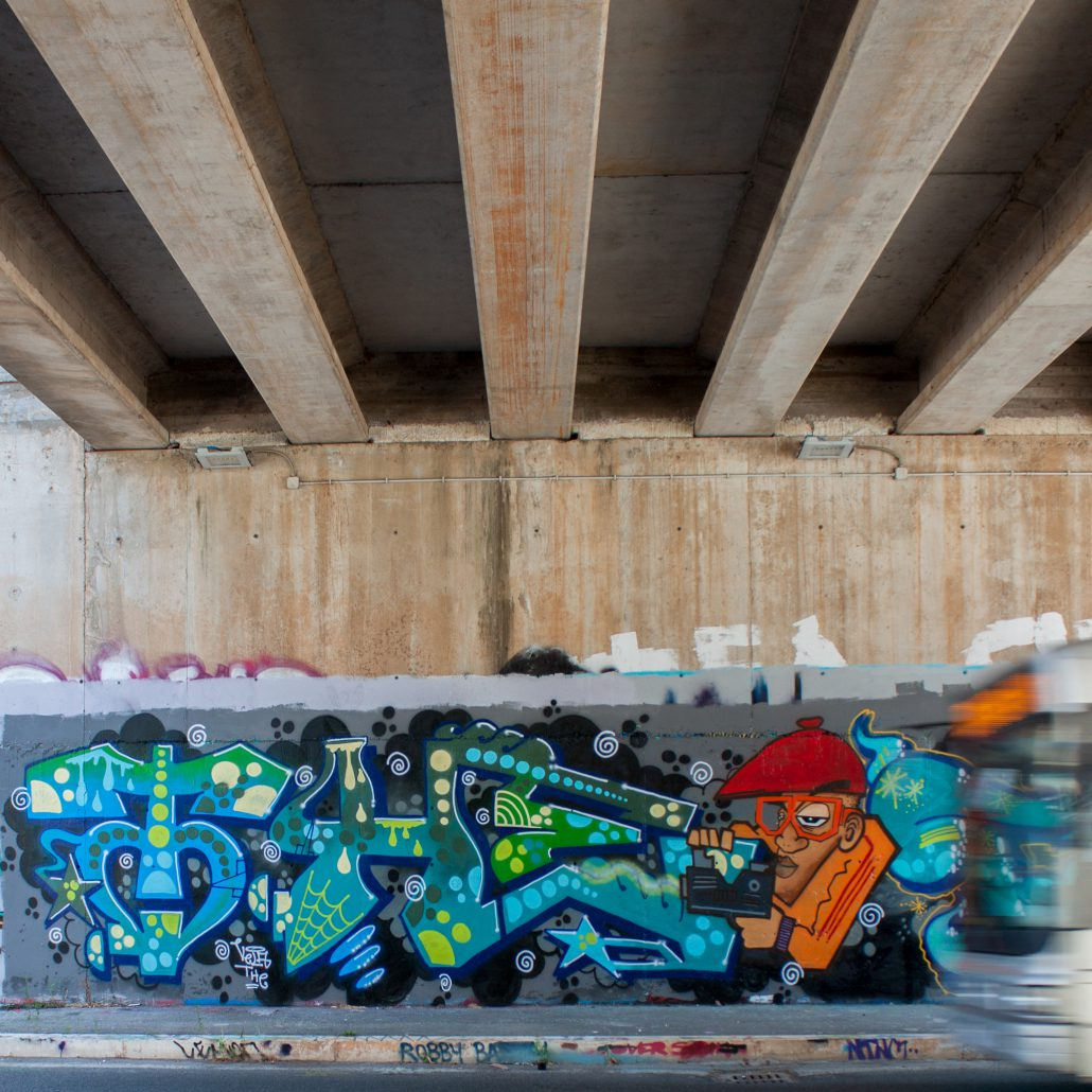 the crew graffito style witing roma