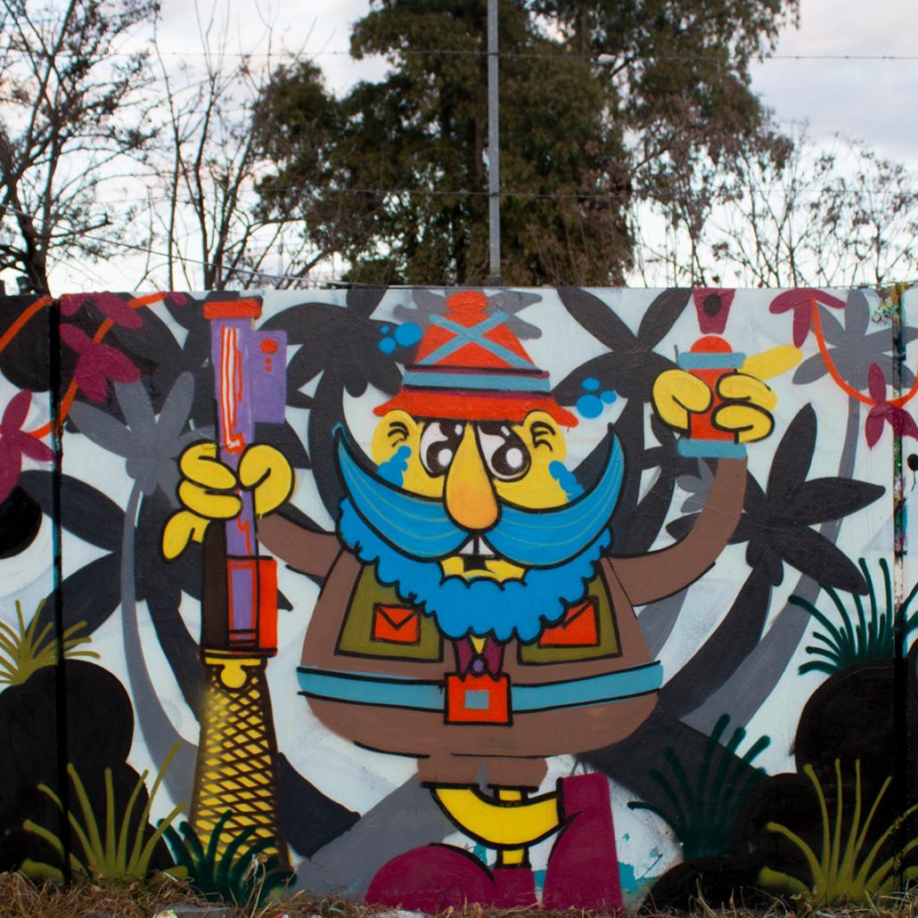 puppet graffiti