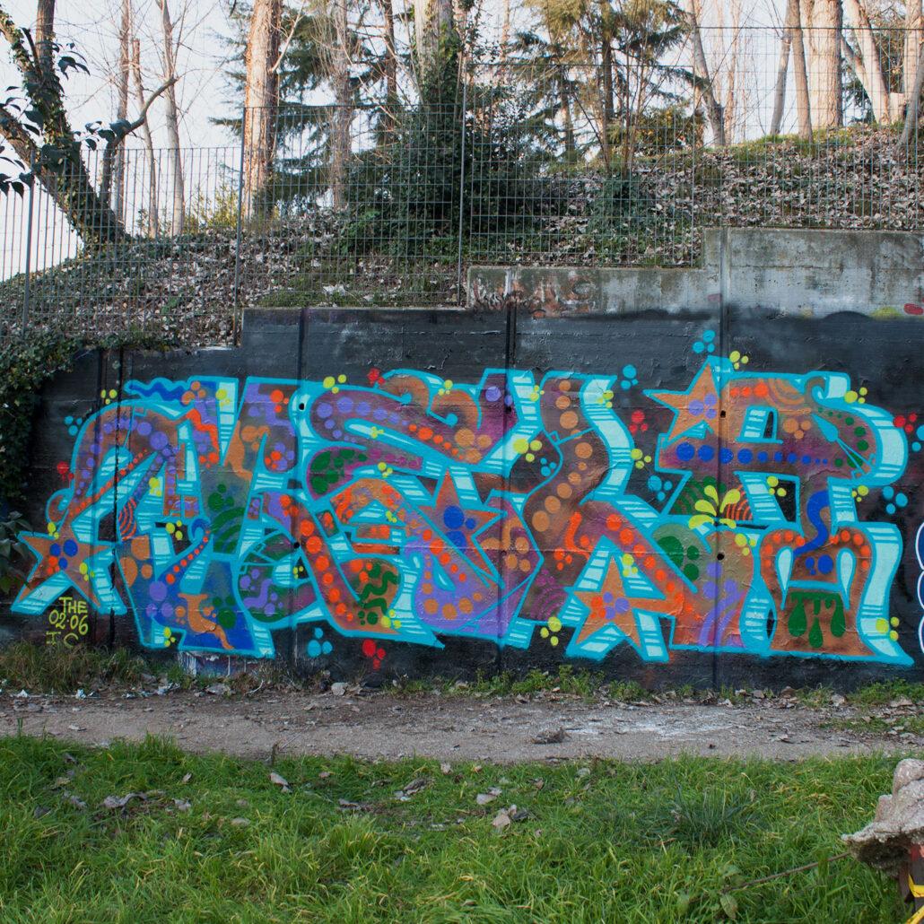 vela graffiti roma