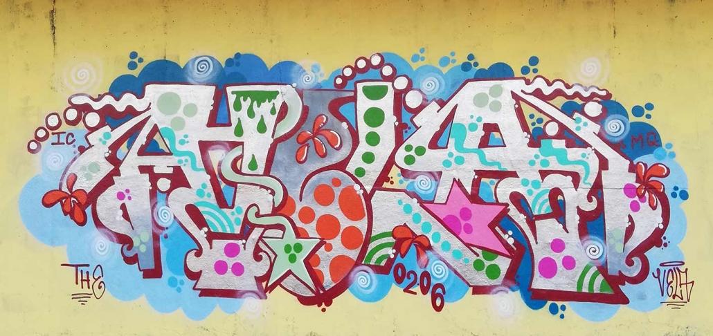 graffiti king a roma