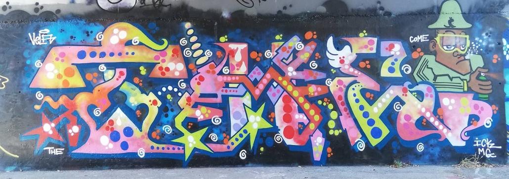 the crew graffito roma burner