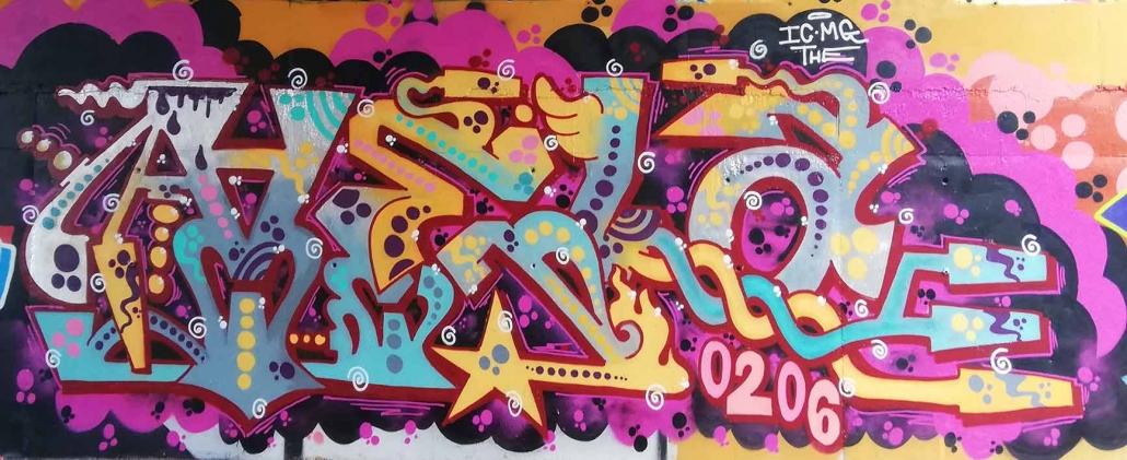 vela graffito roma lettering